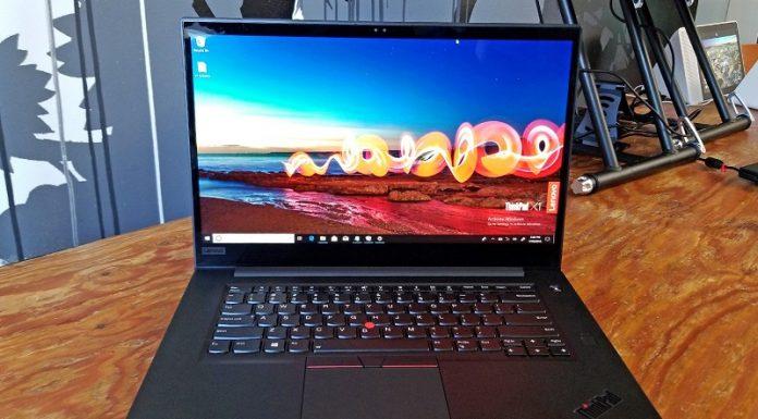 May tinh Lenovo ThinkPad X1 Extreme chuan