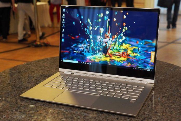 May tinh Lenovo Yoga C930 chuan