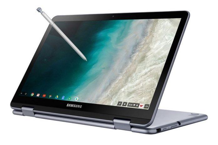 May tinh Samsung Chromebook Plus V2 chuan