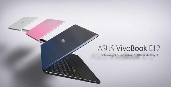 May tinh VivoBook E12 chuan