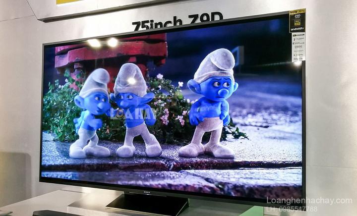 TV Bravia 4K HDR Z9D dep