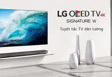 TV LG OLED Signature W7 chuan
