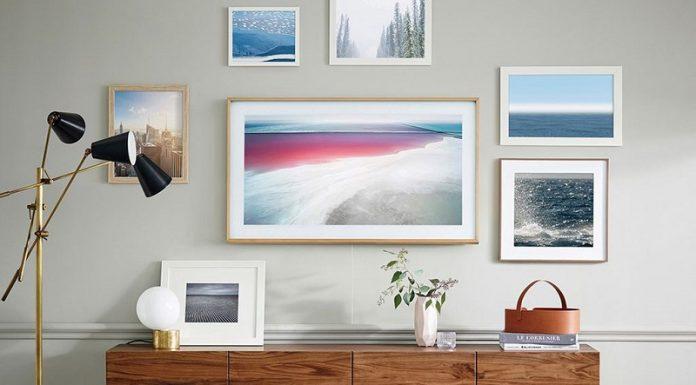 TV Samsung khung tranh The Frame chuan