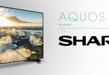 TV Sharp Aqous 8K chuan