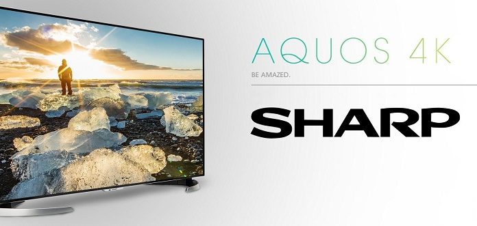 TV Sharp Aqous 8K chuan