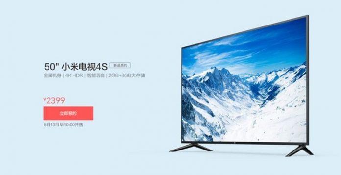 TV Xiaomi 4S 50 inch 4K HDR chuan