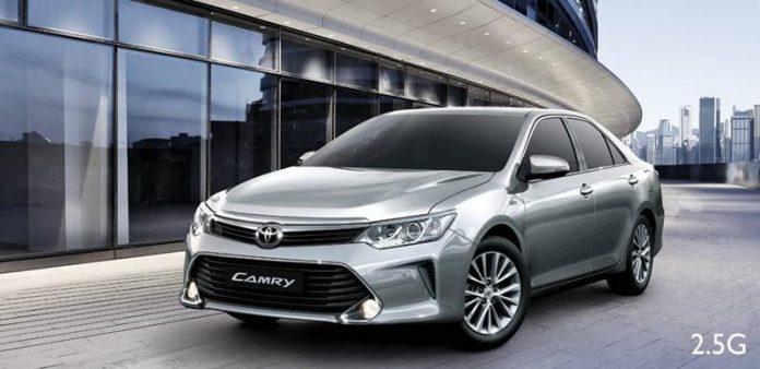 Xe Toyota Camry 2.5 G chuan