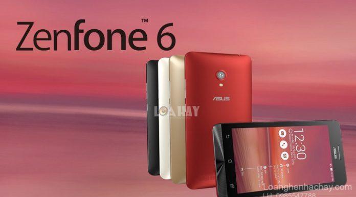 dien thoai Asus ZenFone 6 chuan