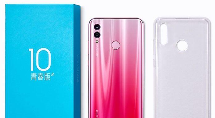 dien thoai Huawei Honor 10 Lite chuan
