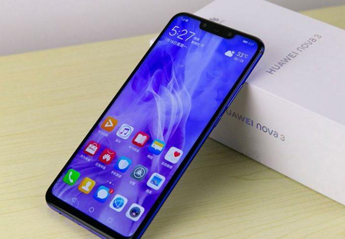 dien thoai Huawei Nova 3
