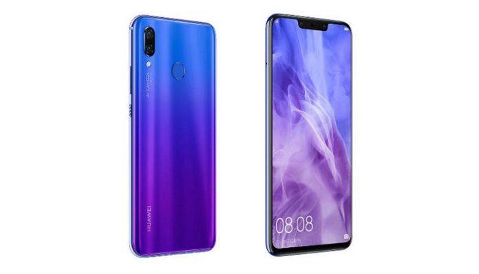 dien thoai Huawei Nova 3i
