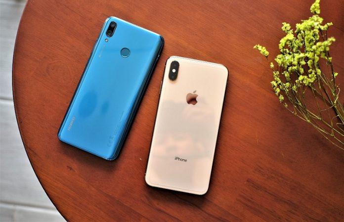 dien thoai Huawei Y9 2019 chuan