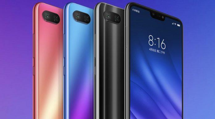 dien thoai Xiaomi Mi 8 Lite chuan