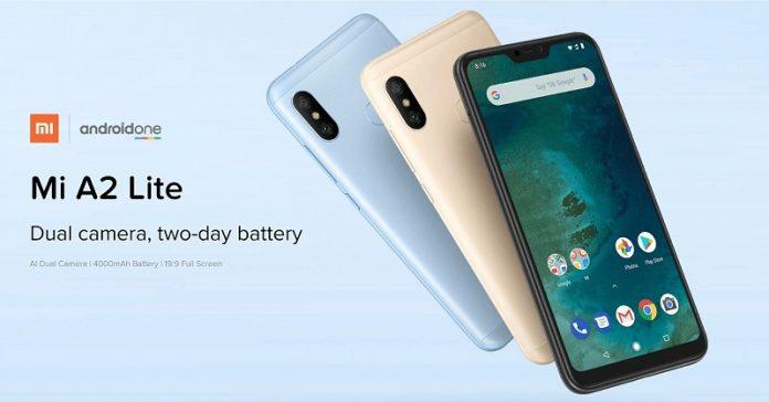 dien thoai Xiaomi Mi A2 Lite chuan