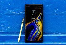 dien thoai Samsung Galaxy Note 9 chuan