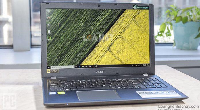 may tinh Acer Aspire 15 chuan