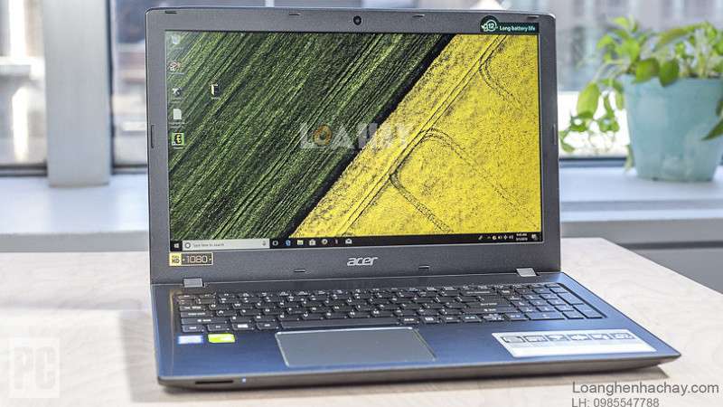 may tinh Acer Aspire 15 chat