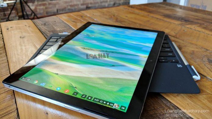 may tinh bang HP Chromebook x2 chuan