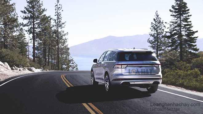 xe Lincoln Aviator 2020 dep