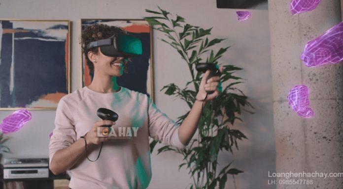 Kinh Facebook VR Oculus Quest chuan