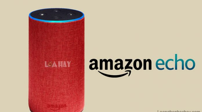Loa Amazon Echo chuan