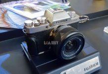 May anh Fujifilm X-T100 chuan
