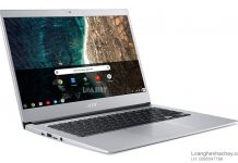 May tinh Acer chromebook 514 chuan