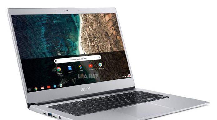 May tinh Acer chromebook 514 chuan
