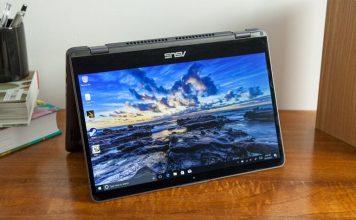 May tinh Asus VivoBook Flip 14 chuan