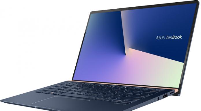 May tinh Asus ZenBook 14 UX433 chuan