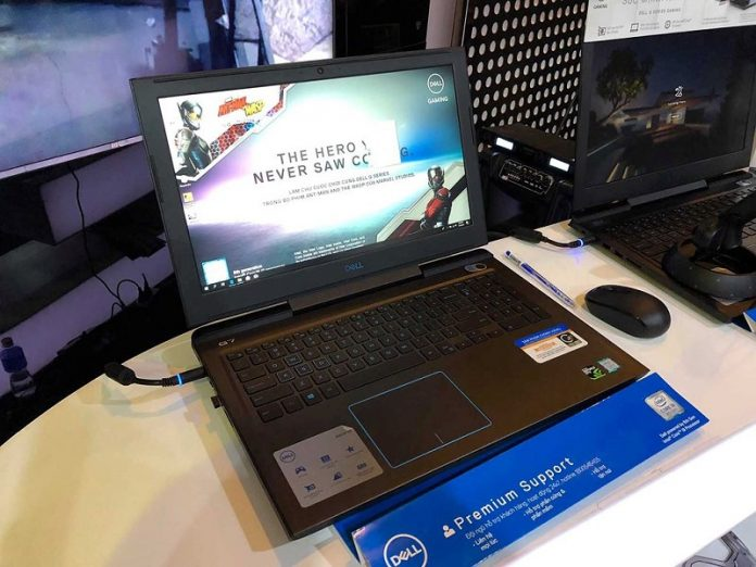 May tinh Dell G3 15 Gaming chuan