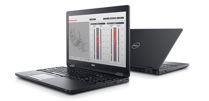 May tinh Dell Precision 3530 chuan