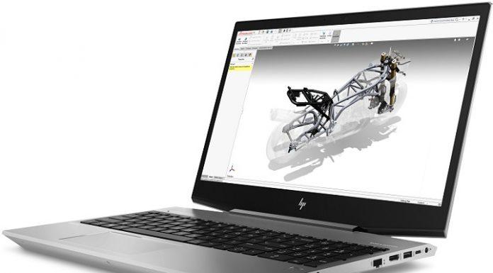 May tinh HP ZBook 17 G5 chuan