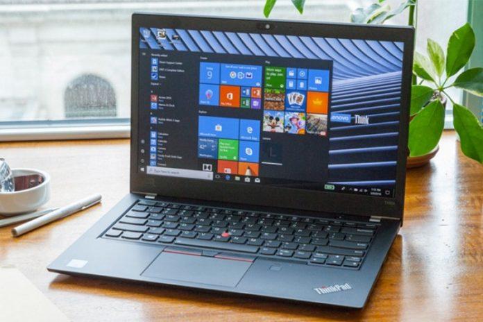 May tinh Lenovo ThinkPad T480s chuan