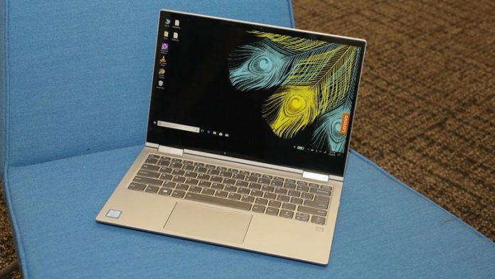 May tinh Lenovo Yoga 730 chuan