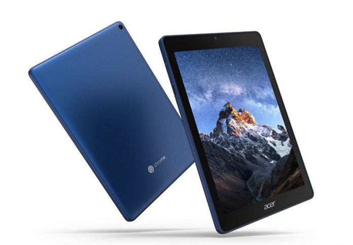May tinh bang Acer Chromebook Tab 10 chuan