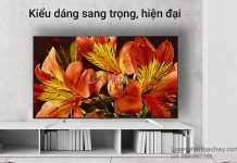 Android Tivi Sony 4K 49 inch KD-49X8500F/S chuan