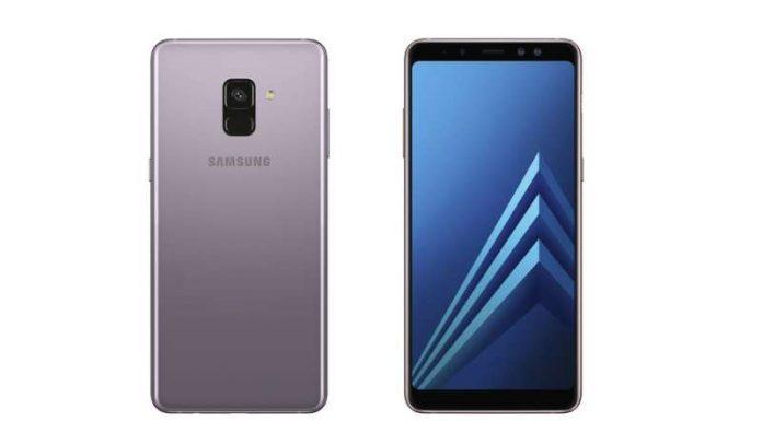 dien thoai Samsung Galaxy A8 chuan