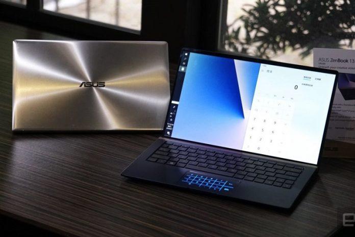 May tinh Asus ZenBook Flip 13 chuan