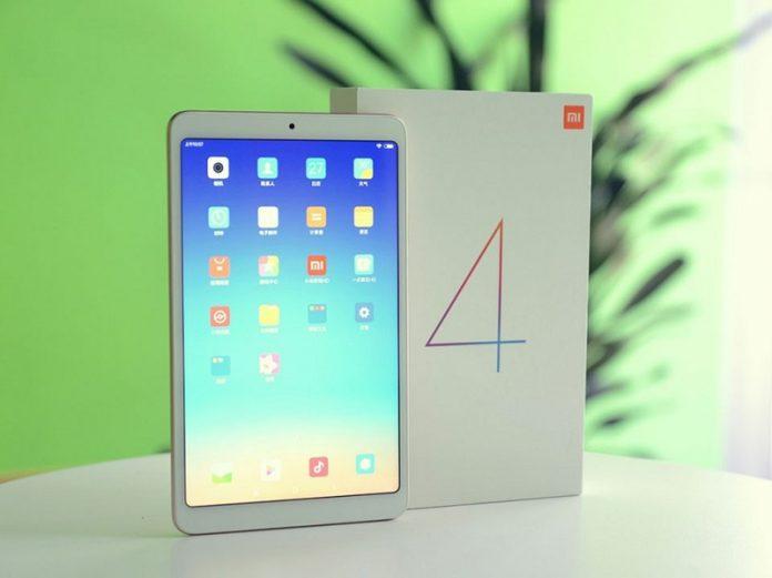 May tinh bang Xiaomi Mi Pad 4 chuan