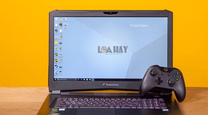May tinh PowerSpec 1710 dep