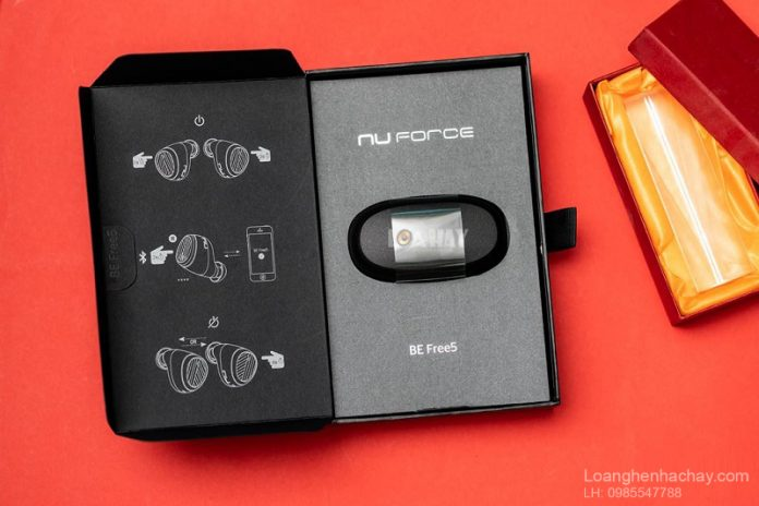 Tai nghe true-wireless Nuforce BE Free5 chuan