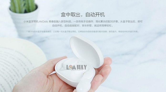 Tai nghe Xiaomi true-wireless Airdots chuan