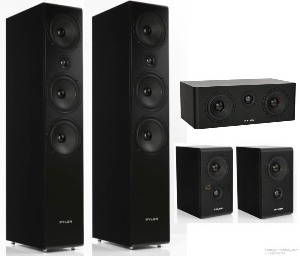 loa pylon audio opal series