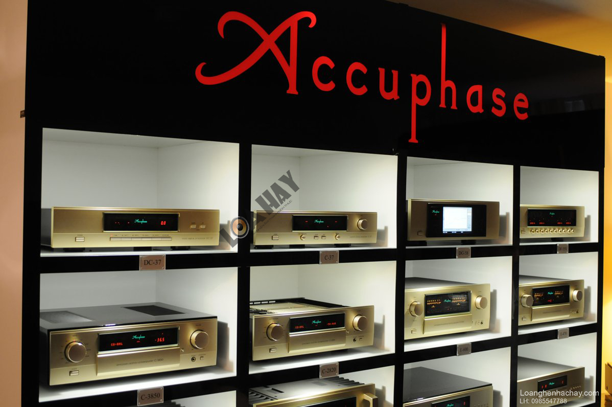 ampli Accuphase chinh hang