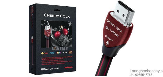 Day tin hieu AudioQuest HDMI Cherry Cola