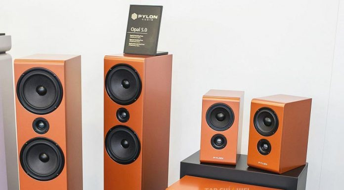 Loa Pylon Audio Opal Center chuan