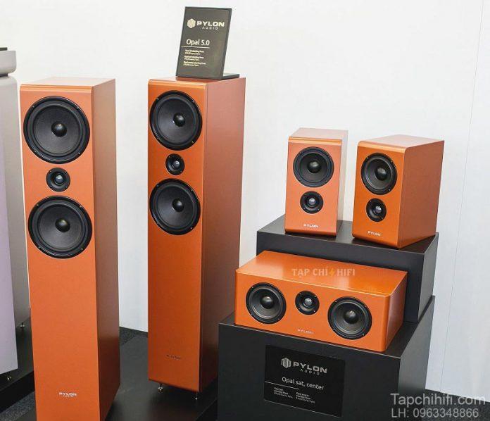 Loa Pylon Audio Opal Center chuan