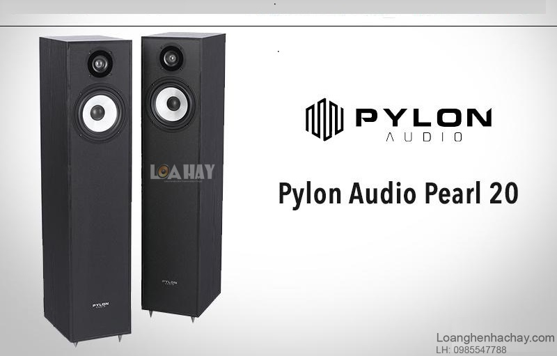 Loa Pylon Audio Pearl 20 chat