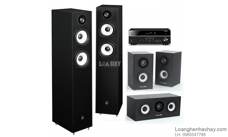 Loa Pylon Audio Pearl Center